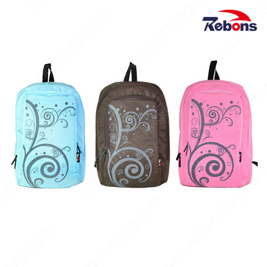 Hot Selling Wool Felt Material Laptop Computer Bag Polo Laptop Bags Wholesale Ladies Laptop Trolley Bag for Grils with Flower Pattern pictures & photos