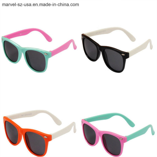 6f598d2a90 Flexible Cat′s Eye Children′s Sunglasses Baby′s Glasses Kids Sunglasses. Get  Latest Price