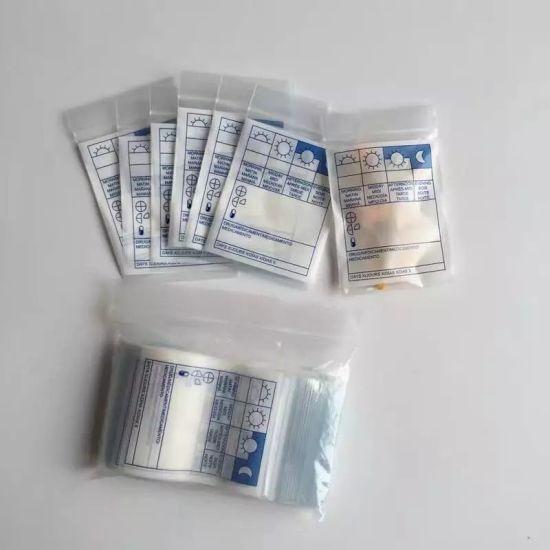 Factory FDA Writable LDPE Pill Reclosable Bag
