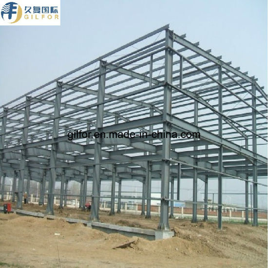 Prefabricated / Prefab Steel Structure Material/Warehouse / Workshop / Construction Building for Chicken House and Egg Layer Poultry Farm