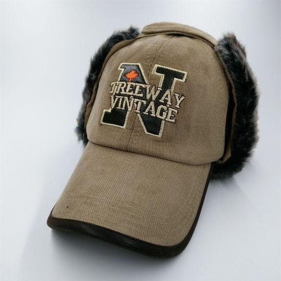 c8420ac9def Fashion Russian Wholesale Fur Custom Winter Baseball Trapper Hat with  Earflap