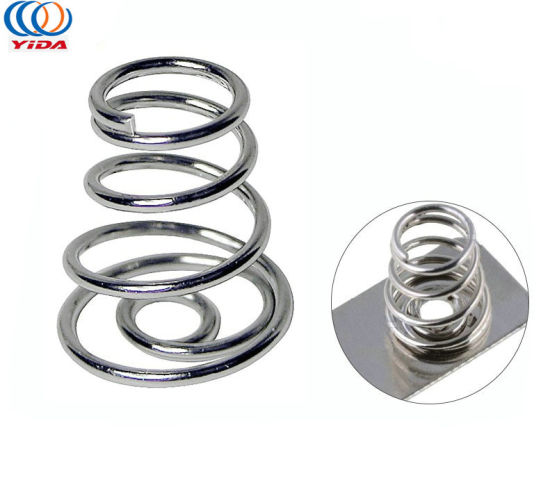 Custom Small Electrical Contact Coil Battery Spring for Electrical Appliances