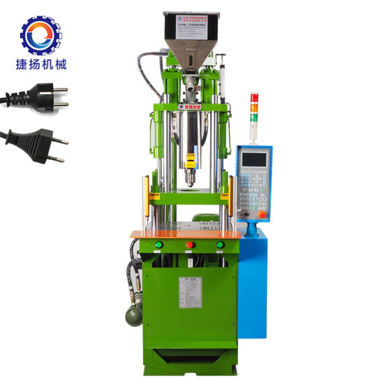 Warehouse European Plug Vertical Injection Molding Machine with Low Price