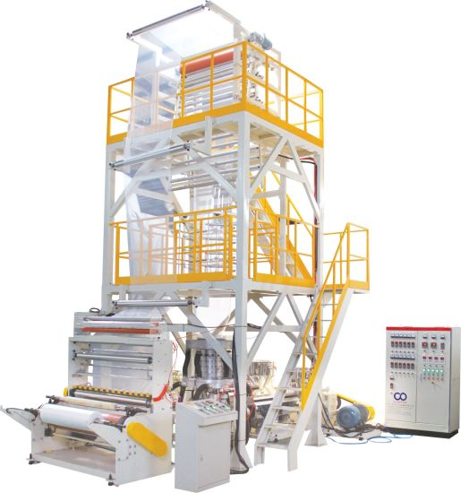 Automatic Ab Co-Extrusion PE Film Blowing Machine
