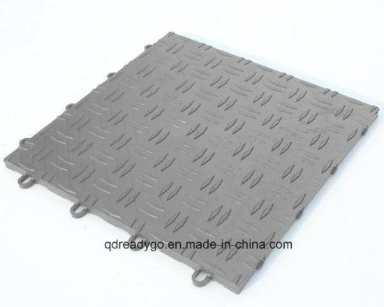 Garage Flooring Tiles : China outdoor floor tiles plastic flooringfor walkway park garage