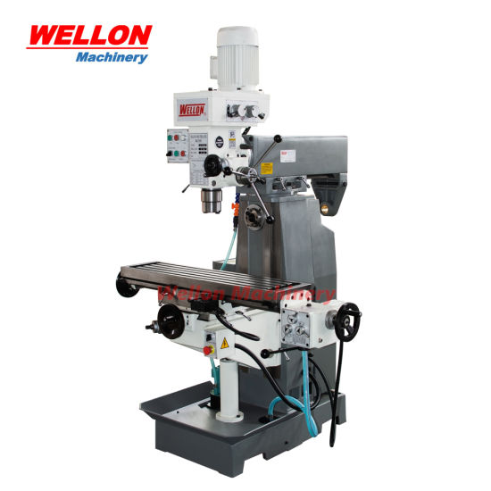 Knee Type Drilling Milling Machine Zx7550c/Zx7550cw Universal Milling Drilling Machine Price