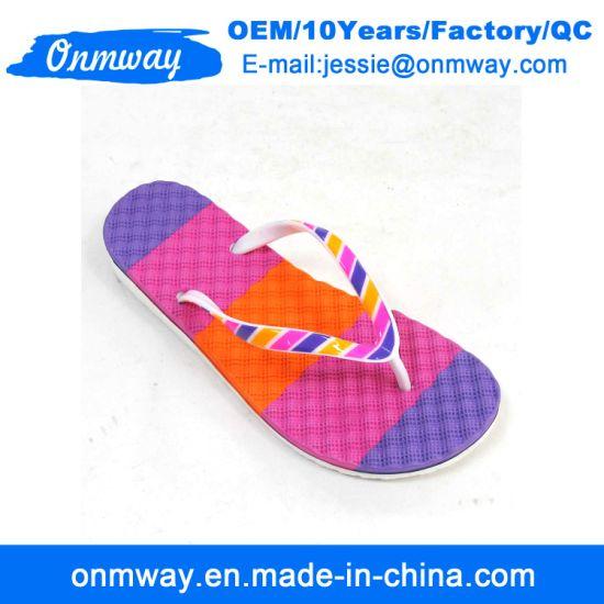 Customize Student Girls PE Flip Flops Slippers