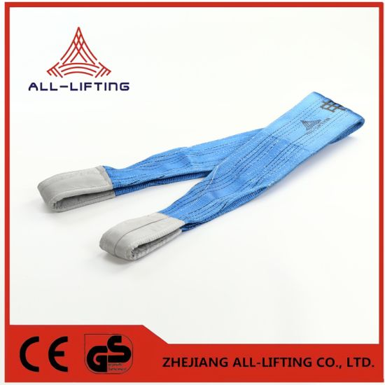 8t Double Flat Lifting Polyester Webbing Sling