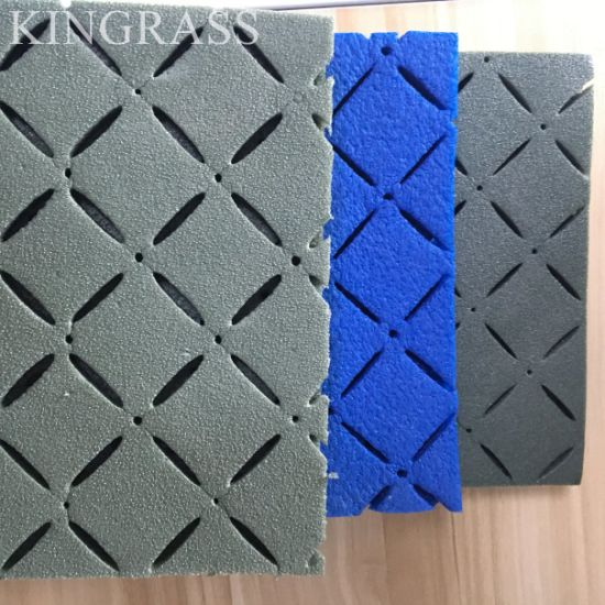 Plastic Grass Kindergarten Floor Mats Synthetic Turf Shock Pad pictures & photos