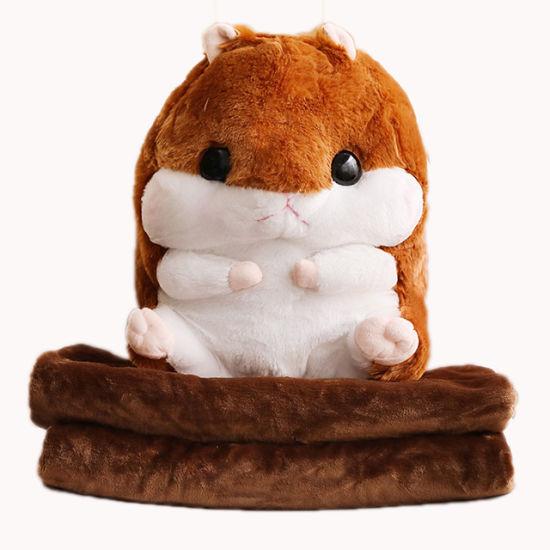 Wholesale Baby Animal Stuffed Hamster Plush Blanket Toys