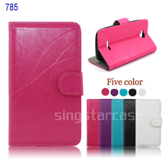 Wholesale Flip Leather Card Holder Mobile Phone Case for Avvio 785