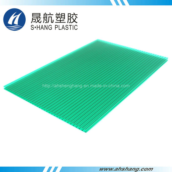 Anti-UV Polycarbonate Plastic Hollow Sheeting for Building Material pictures & photos