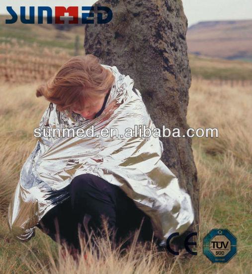 Gold & Sliver Emergency Rescue Blanket