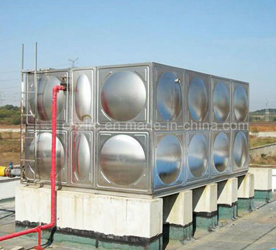 Stainless Steel Water Tank Sectional Ss Water Storage Tank & China Stainless Steel Water Tank Sectional Ss Water Storage Tank ...