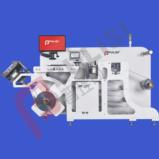 Paper Label Inspection Slitting and Rewinding Machine