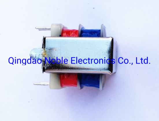 Ei Type Ei2811 Low Frequency Transformer with Frame and Flexbile Leads out
