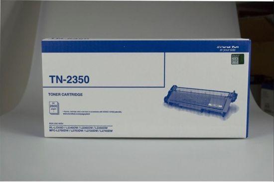 Black Original Tn2350 Laserjet Printer Consumable Laser Toner Cartridge for Brother
