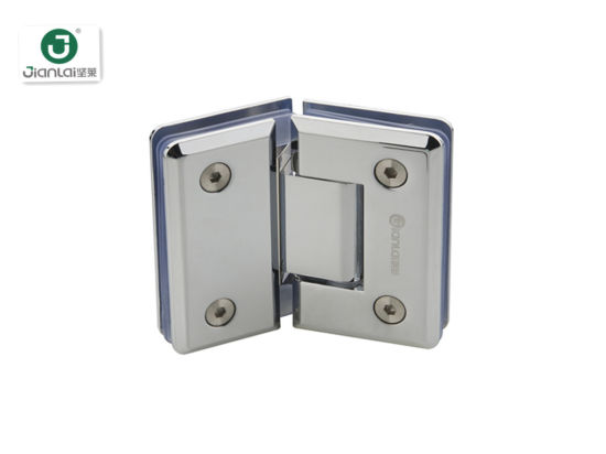 Best Price 135 Degree Beveled Edge Bathroom Toughened Glass Door Shower Hinge pictures & photos