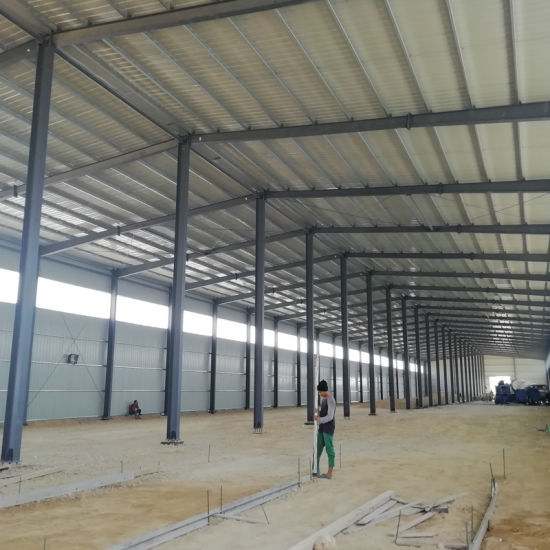 Pre Fabricated Steel Beam Structural Light Steel Structure Warehouse Building