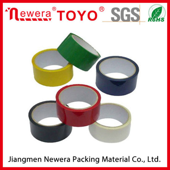 Single Sided Adhesive Side and Waterproof Feature BOPP Adhesive Tape pictures & photos
