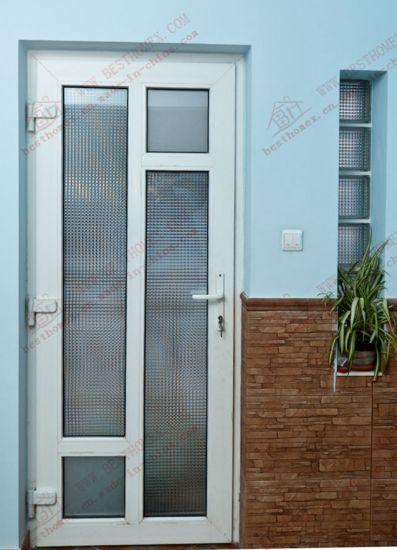 China European Standard Upvc Patio Door With Sidelight Bhp Cd15