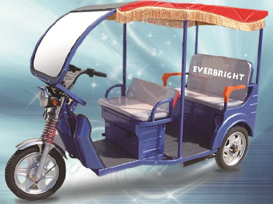 Good Selling 48V 800W Passenger Electric Rickshaw pictures & photos