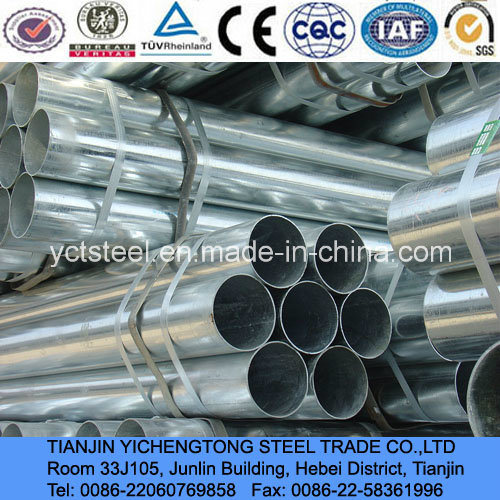 Hot Dipped Galvanized Pipe Supplied in Tianjin, China pictures & photos