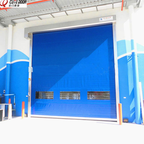 Industrial Automatic Repaired Roll up Door for Food Industry pictures & photos