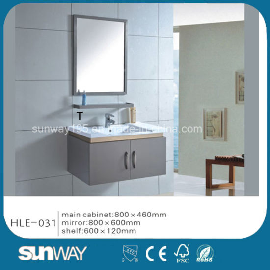 Hot Silver Mirror Stainless Steel Bathroom Cabinet