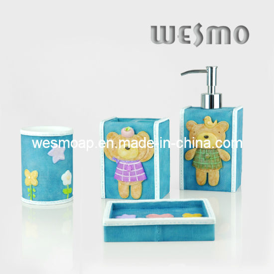 Kid's Polyresin Bathroom Set (WBP0215C)