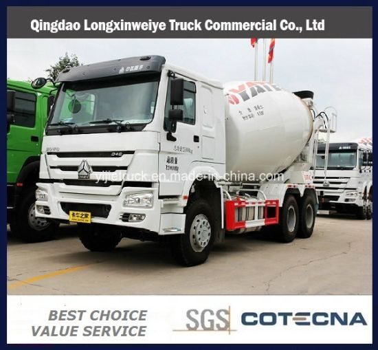 Good Price HOWO 6X4 8-10m3 Specialized Vehicle Heavy Cement Concrete Mixer Truck for Sale pictures & photos