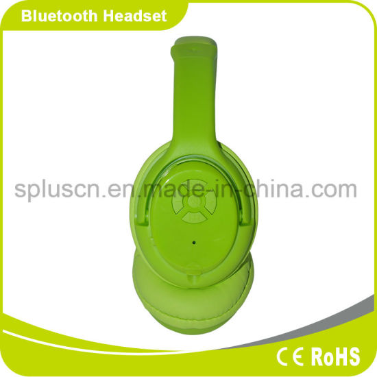Popular Item Ideal Sound FM Bluetooth Headphone with Mic SD Card Reader Function Suit for Cell Phone / MP3 pictures & photos