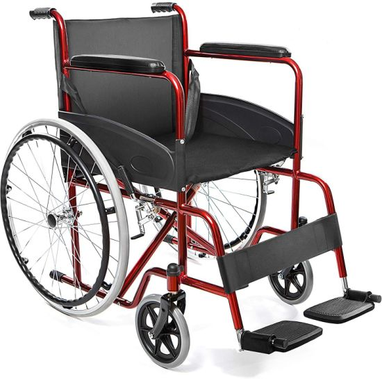 Factory Supply Manual Folding Wheelchair Hot Sale Price USD29.90