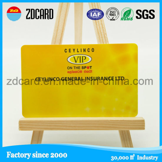 Competitive Price and High Quality RFID Travel Business Card pictures & photos