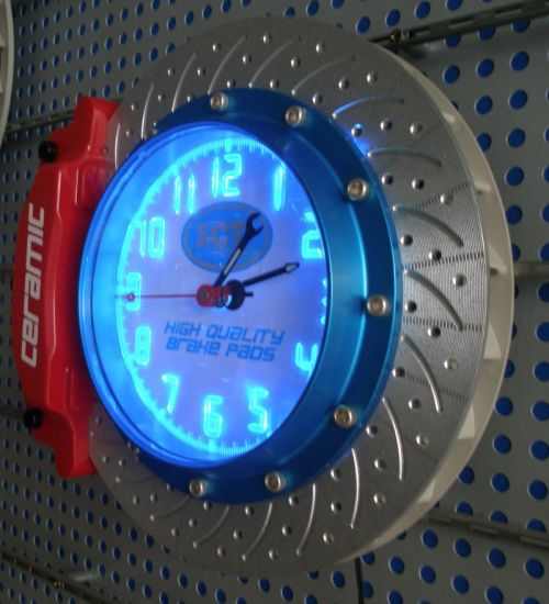 OEM Design Novelty LED Wall Clock pictures & photos