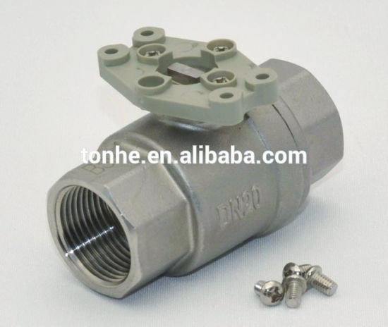 1′′ 304 Stainless Steel Electric Actuator Motorized Valve for for Water Treatment (T25-S2-B) pictures & photos