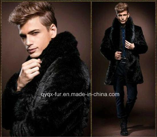 Imitation Rabbit Fur Coat for Men Qy-C3