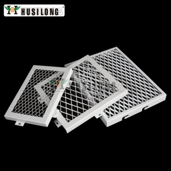Custom Shaped Aluminum Stretch Panel Metal Mesh Cladding System