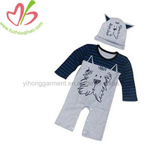 5e84fc944a45 Boy romper setbaby set baby sweater and hat baby hat t