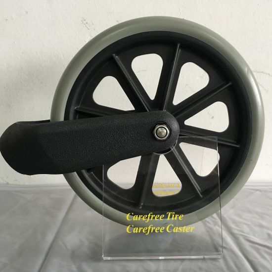 8X1 Wheelchair Front Wheel and Fork pictures & photos