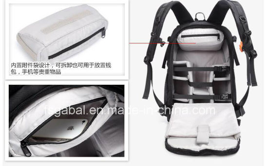 Professional Outdoor Waterproof Ripstop Nylon Uav Camera Backpack Bag pictures & photos