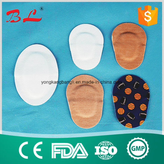 White Non-Wovn Fabric Eye Pads Colorful Eye Patch pictures & photos