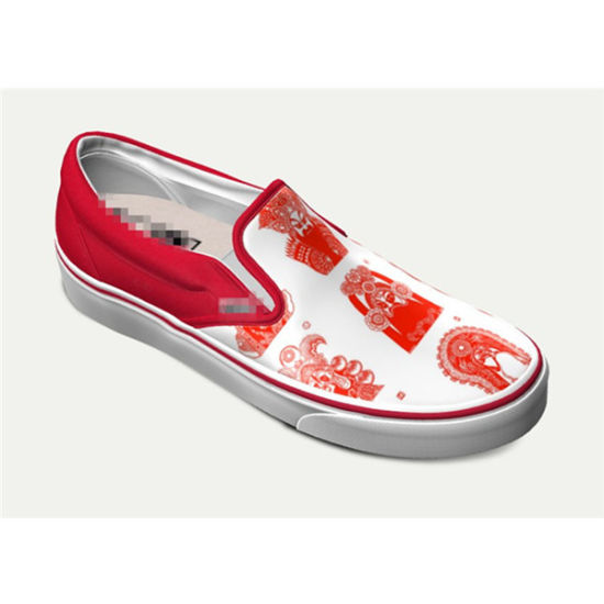 Dropshiping Made to Order Factory Fashion Casual Shoes Sublimation Prints Custom Shoes Classic Canvas Sneakers