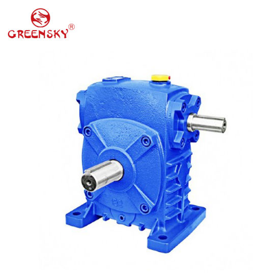 Wpa Wps Low Speed High Torque Transmission Worm Gear Speed Reducer Gearbox pictures & photos