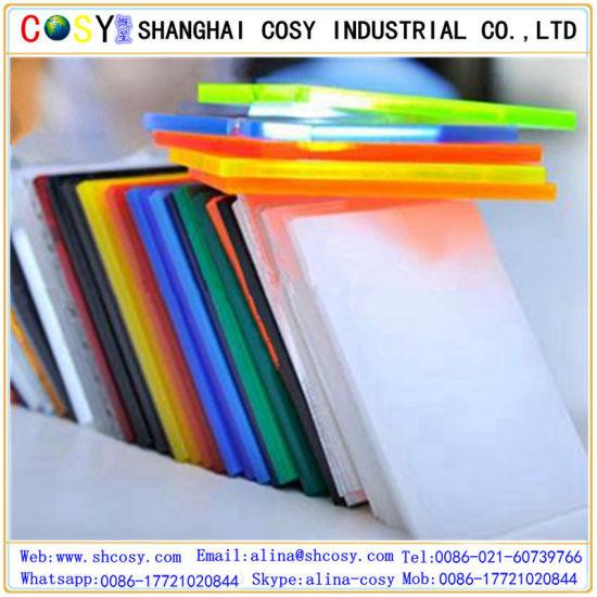 China Wholesale High Gloss Color Transparent Plastic Cast Acrylic ...