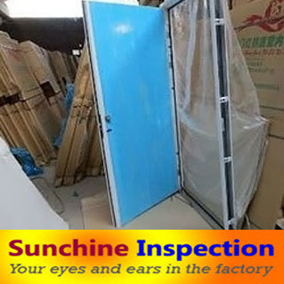 Steel Door Inspection/Quality Control/Inspection Services in China pictures & photos
