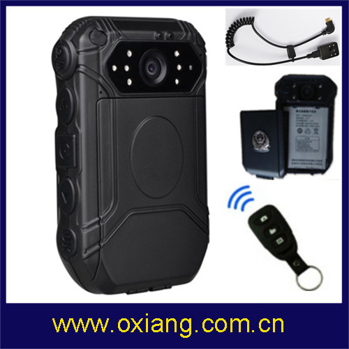 Support Chinese, English, Russian HD 1080P Police Body Camera