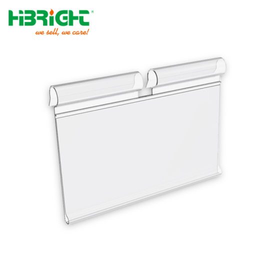 Supermarket PVC Price Holder/Tag for Hooks pictures & photos