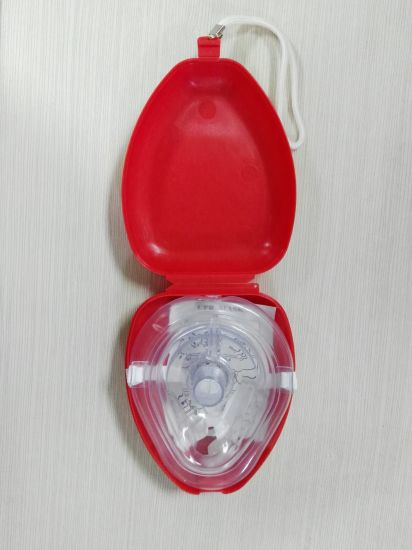 Hospital/Clinical Disposable CPR Mask Mouth to Mouth pictures & photos