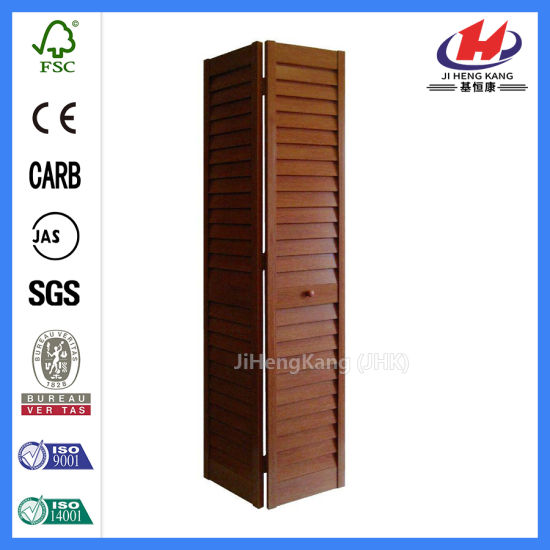 China Internal Small Bethroom Sliding Pantry Solid Oak Bifold Doors ...